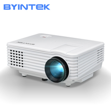 BYINTEK cielo BT905 de cine en casa Mini LED de vídeo portátil HD LCD Soporte para Proyector HD soporte USB 1080