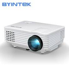 Byintek sky bt905 cinema em casa mini led vídeo portátil hd lcd projetor beamer proyector com hd usb suporte 1080 p