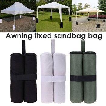 Hot 1PC Outdoor Camping Tent Sand Bag Canopy Weights SandBag 420D Oxford Windproof Fixing Sandbag