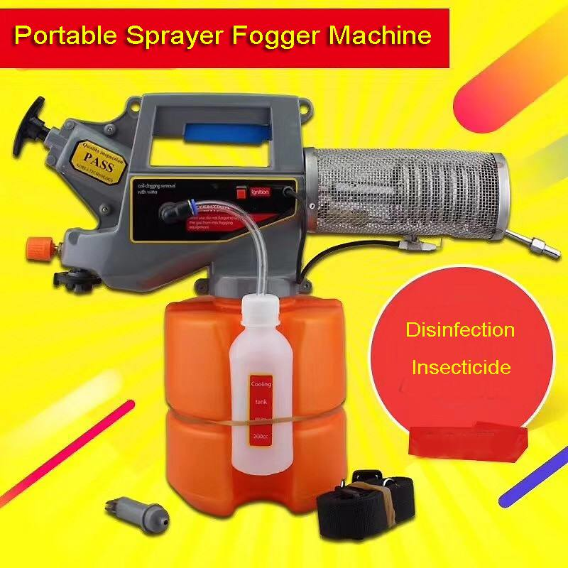 Portable Thermal Sprayer Fogger Machine Household Mosquito Killer Insecticide Disinfection Handheld Sterilizer For Home Garden