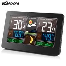 KKMOON 3-in-1 kryty odkryty bezprzewodowa stacja pogodowa termometr higrometr barometr Monitor temperatury manometr