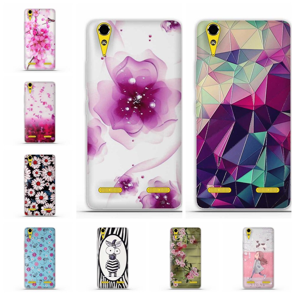 Capa For Lenovo A6000 A6010 Case Cover 3D Cute Soft TPU Silicon Coque For Lenovo A1000 A2010 A5000 A7000 A2800 A2020 Phone Cases