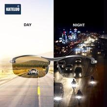 KATELUO-gafas de visión nocturna para hombre, lentes de sol polarizadas para conducir, fotocromáticas, 2020