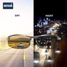 KATELUO 2020 lunettes de soleil polarisées pour hommes, Vision jour et nuit, pour conduire, verres photochromiques pour hommes, 557