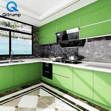 Solid Color Vinyl Self Adhesive Waterproof Wallpaper Bathroom Kitchen Countertops Contact Paper Home Improvement Wall Stickers