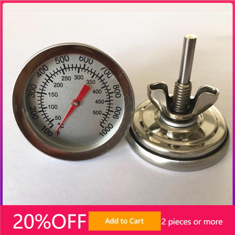 Stainless Steel Thermometer for Barbecue Smoker Grill Temperature Gauge 50-500℃