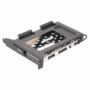 Uneatop 2.5 inch SATA bracket HDD/SSD internal Aluminum Mobile Rack for PCI Expansion mounting