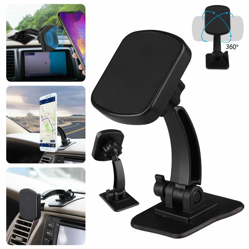Новинка 2020 Автомобильный держатель для телефона на присоске 360 крепление в автомобиль подставка магнитная поддержка мобильный сотовый тел...