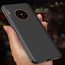 Keajor case for Huawei Mate 30 Case Ultra Thin Soft Matte Silicon TPU Bumper Cover For Pro phone capa