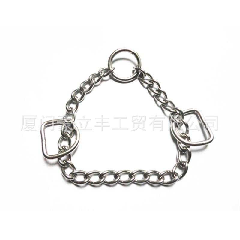 Dog Chain Dog Neck Ring Accessories 304 Stainless Steel Triangular Chain