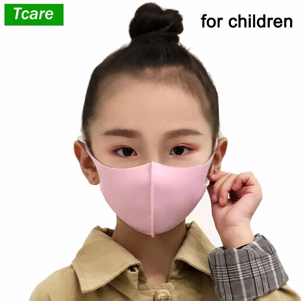 Pollution Mouth Mask Anti Air Dust And Smoke Pollution Mask With Elastic Earloop Washable Mask Made For 7-15 Years Old Children