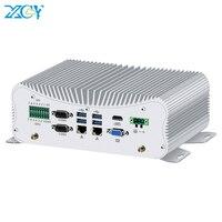 XCY Mini PC Intel Core i5 10210U i7 10510U 6*RS232/422/485 2*Gigabit Ethernet WiFi Bluetooth 6*USB LPT PS/2 HDMI VGA 4G SIM GPIO