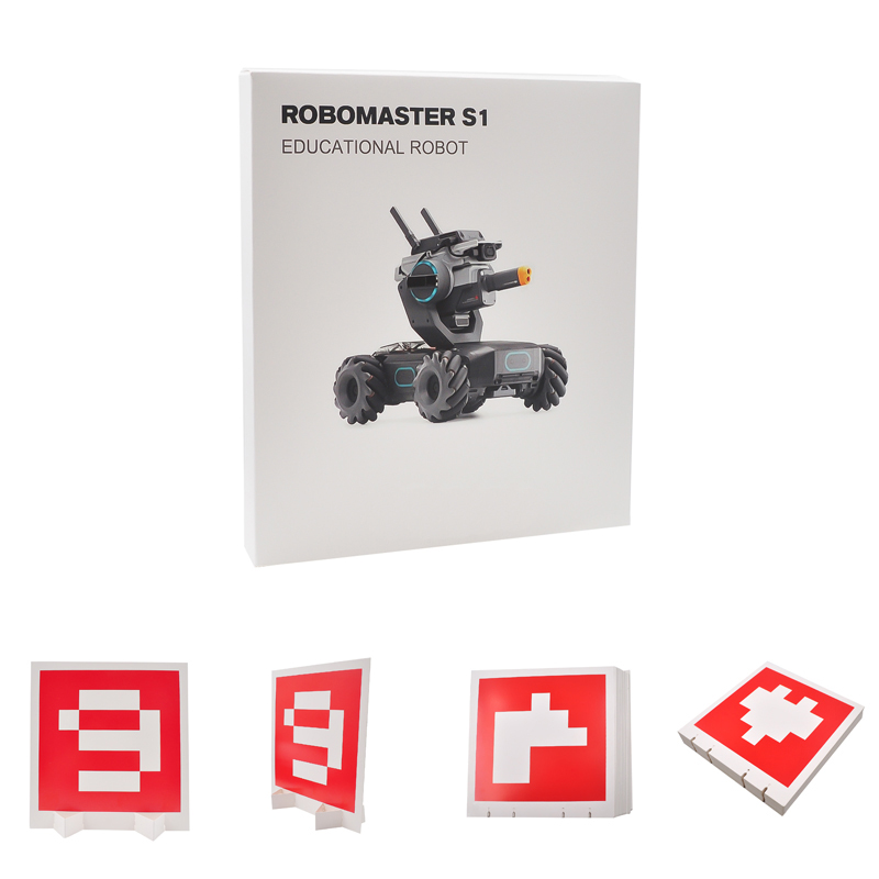 RoboMaster S1 Dedicated Visual Identification Card Shooting Target Set For DJI RoboMaster S1 Accessories