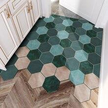 Pvc tapete tapete sala de estar interior ao ar livre tapete de entrada personalizado laço de seda diy corte padrão geométrico pé tapete da porta