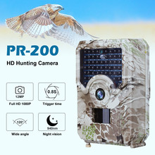 1080P Wildkamera Trail Animal Camera 940nm Night Vision Outdoor Waterproof Wildlife Photo Traps Hunting