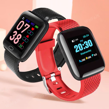 2020 Smart Watch Women Men Smartwatch For Apple IOS Android Electronics Smart Fitness Tracker Silicone Strap Smart Watches Hours