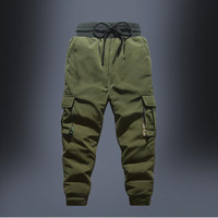 Kids Boys Pants Autumn Warm Children Boys Trousers Fashion Camouflage Overalls Pants Patch Pocket Teen Cargo Pants 5 14 Years