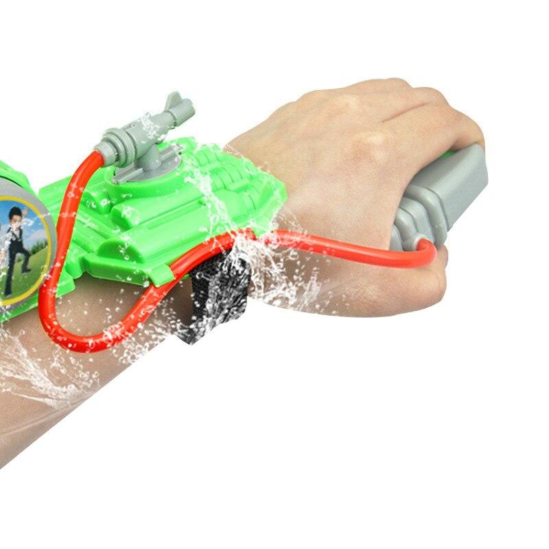 Hot-Handheld Water Sprayer Summer Children'S Wrist Water Jet Beach Water Toys