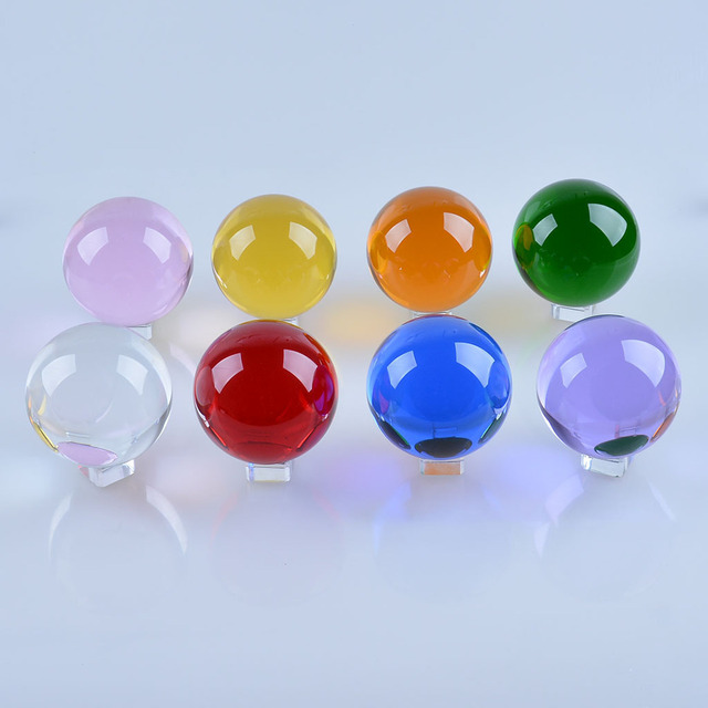 Crystal Ball Color Ball 20 25 Crystal Crafts Decoration Accessories Home Decoration 4