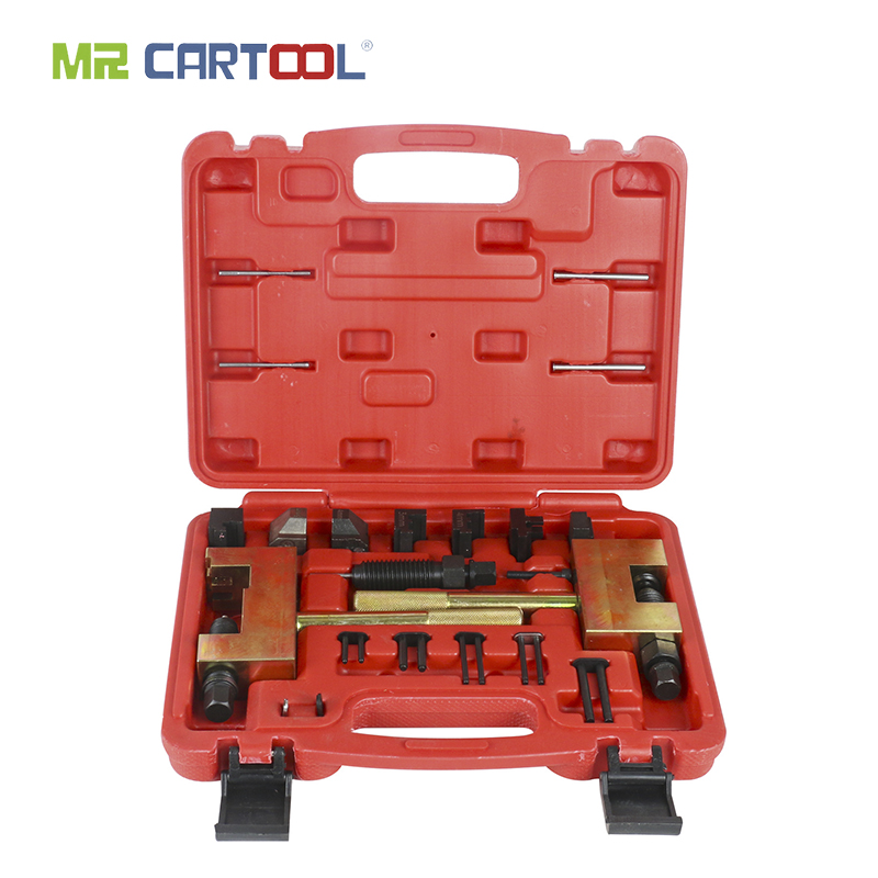 MR CARTOOL Engine Timing Chain Removal Installer Chain Breaker For Mercedes Benz Riveting Tool M271 M272 M273