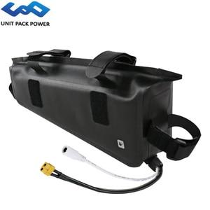 48V 14Ah 672Wh eBike Waterproof Bag Battery 36V 17.5Ah 630Wh Samsung Cell Battery for 1000W 750W 500W 250W TSDZ2 Bafang Engine