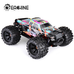 Presale Eachine EAT02 1/8 4WD 2.4G RC Car Brushless Big Foot High Speed 90km/h Drift Vehicle Models Truck Metal Chassis