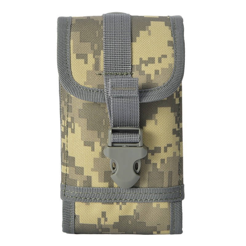 Outdoor Military Tactical Molle Utility Bag Waist Accessories Bag Phone Belt Pouch Mobile Phone Case Cell Phone Holder