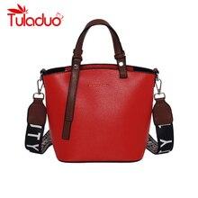 Women's Bag PU Leather Women Handbags Bucket Female Shoulder Bag Designer Luxury Lady Tote Large Capacity Zipper Shoulder Bag pu leather zipper metal tote bag