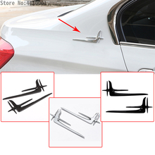 Car Tail Lengthened Standard Stickers For Mercedes-Benz A B C E Class W213 W205 GLE GLS GLC GLK CLA W177 X204 Auto Accessories автомобильное зеркало cla glk abs