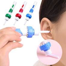 Electric Luminous Earpick LED Light Ear Cleaning Spoon Baby Adult Earwax Removing Safe Nursing Care Tool M89F(China)