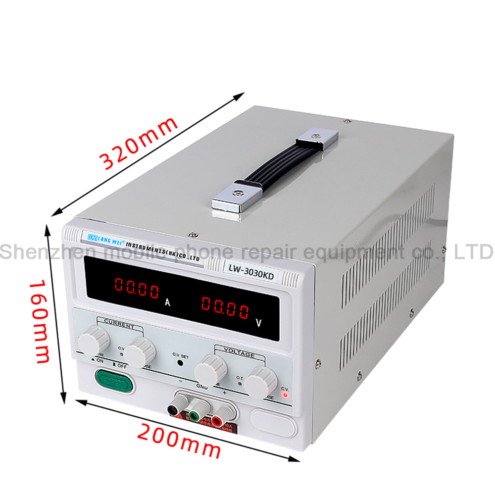 Image 4 - LW 3030KD 30V/30A High Precision Digital Display Adjustable DC Regulated Power Supply Repair Testing Lab Switching Power SupplyVoltage Regulators/Stabilizers   -