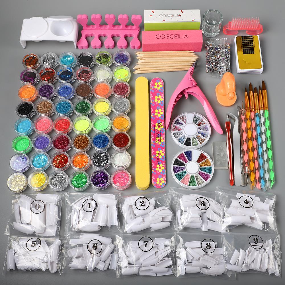 para manicure prego extensão conjunto prego kit
