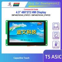 Dwin – écran tactile capacitif T5 HMI, Module LCD 4.3