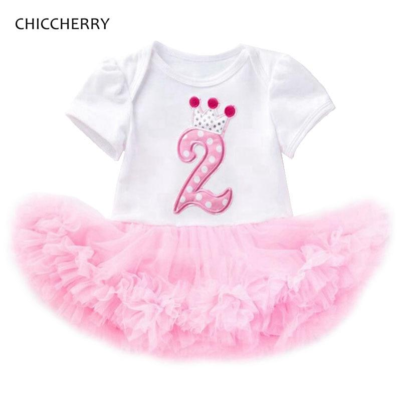 Vestidos para meninas de 2 anos, vestidos de aniversário para meninas, bebês, macacão de renda, roupas para 2 ° criança, roupas de aniversário, bebek e