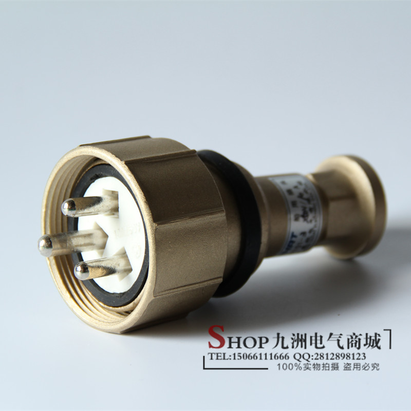 Metal Copper Plug Cth101-1 / 2 / 3 / 4 / 5 Marine Waterproof Plug And Socket 16A Factory Direct