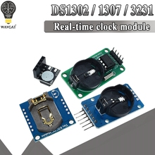 DS3231 AT24C32 IIC Module DS1302 Precision Clock Module DS1307 Memory module mini module Real Time 3.3V/5V For Raspberry Pi