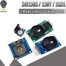 Ds3231 at24c32 iic módulo ds1302 precisão relógio módulo ds1307 módulo de memória mini módulo em tempo real 3.3v/5v para raspberry pi