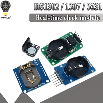 DS3231 AT24C32 IIC Module DS1302 Precision Clock DS1307 Memory module mini Real Time 3.3V/5V For Raspberry Pi - discount item  8% OFF Active Components