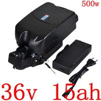 Bateria elétrica do íon do lítio 36 v para bafang/8fun bbs01motor bateria elétrica 36 v 15ah da bicicleta 36 v 10ah 13ah 15ah 500 w ebike bateria