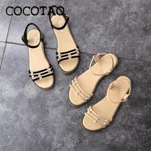 Evening Temperament Sandals Female 2020 New Summer Fashion Rome Gentle Korean Version Wild Student Fairy Style