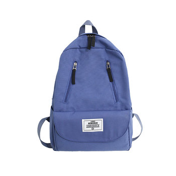 цена на New Casual Waterproof Nylon Backpack Women Large Capacity Travel Bag Student School Bag Fashion Design Female Shoulder Backpack