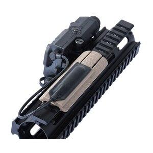 """Image 2 - Wadsnエアガン 4.125 """"iti td scarポケットパネルリモートスイッチパッドテール保護スロットは、 20 ミリメートルレールPEQ15 スカウトライトアクセサリー"""