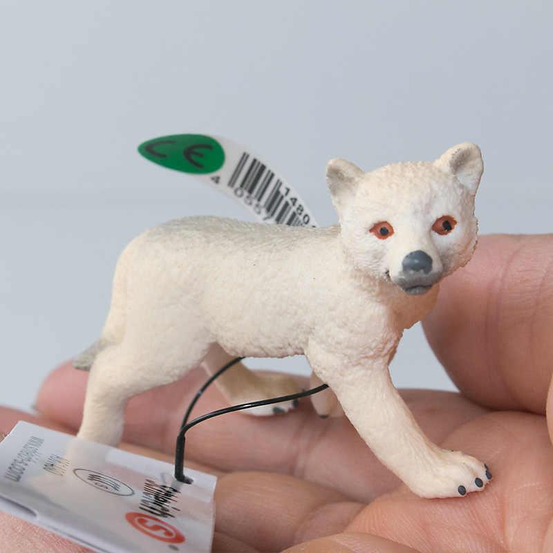 Schleich Wild Life Arctic Wolf Cub 14804 NEW