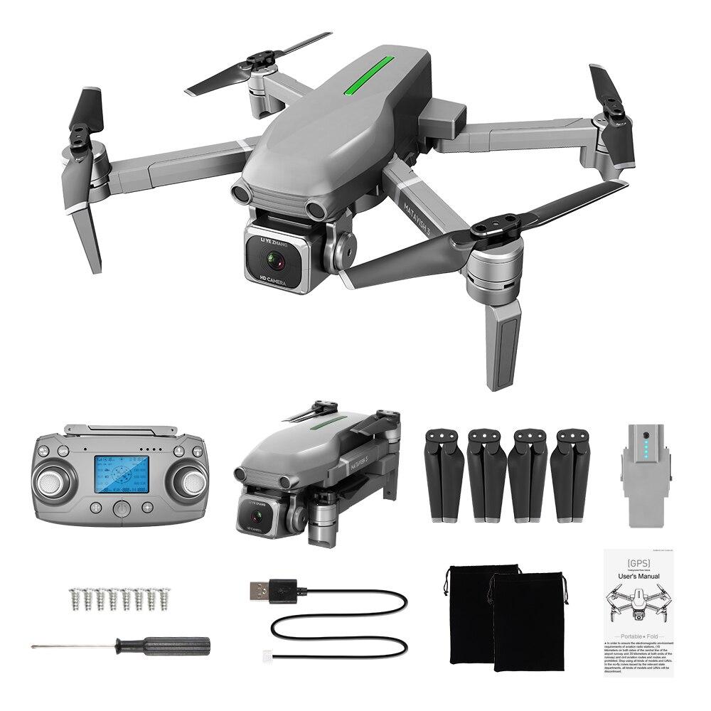 L109 RC Drone 4K kwadrokopter z kamerą Full HD profesjonalny helikopter 5G WIFI GPS śledź mnie FPV elektroniczna stabilizacja obiektywu