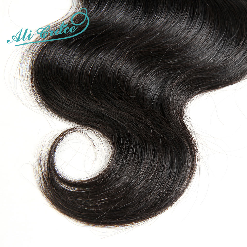 Hdfdbed0c76b246ceb427d29743fca39el Ali Grace Brazilian Body Wave Hair With Closure 4*4 Free Middle Part Closure with Bundles Remy Human Hair Bundles With Closure