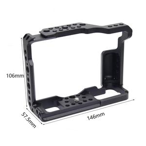 Image 3 - X T3 Aluminum Alloy Camera Video Cage for Fujifilm XT 2 X T3 DSLR Camera Cage Stabilizer Rig Protective Case Cover
