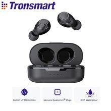 Tronsmart Onyx gratuit TWS écouteurs Bluetooth 5.0 sans fil écouteurs UV stérilisation QualcommChip avec aptX, IPX7 étanche