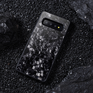 Image 5 - אמיתי מזויף פחמן סיבי מקרה עבור סמסונג S10 S10E חזרה כיסוי תבנית יוקרה עבור Samsung Galaxy S10 בתוספת נייד טלפון מקרה