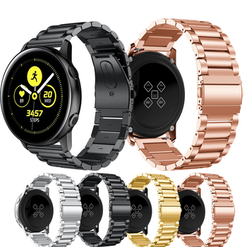 stainless steel bands for samsung galaxy watch s5 42mm 46mm watchbands gear sport s2 s3 s4 milanese loop magnetic buckle strap For Samsung Galaxy Watch 42mm Gear S2 fashion Strap Bands For Samsung Galaxy Watch 42mm Metal Bracelet Stainless Steel Wristband