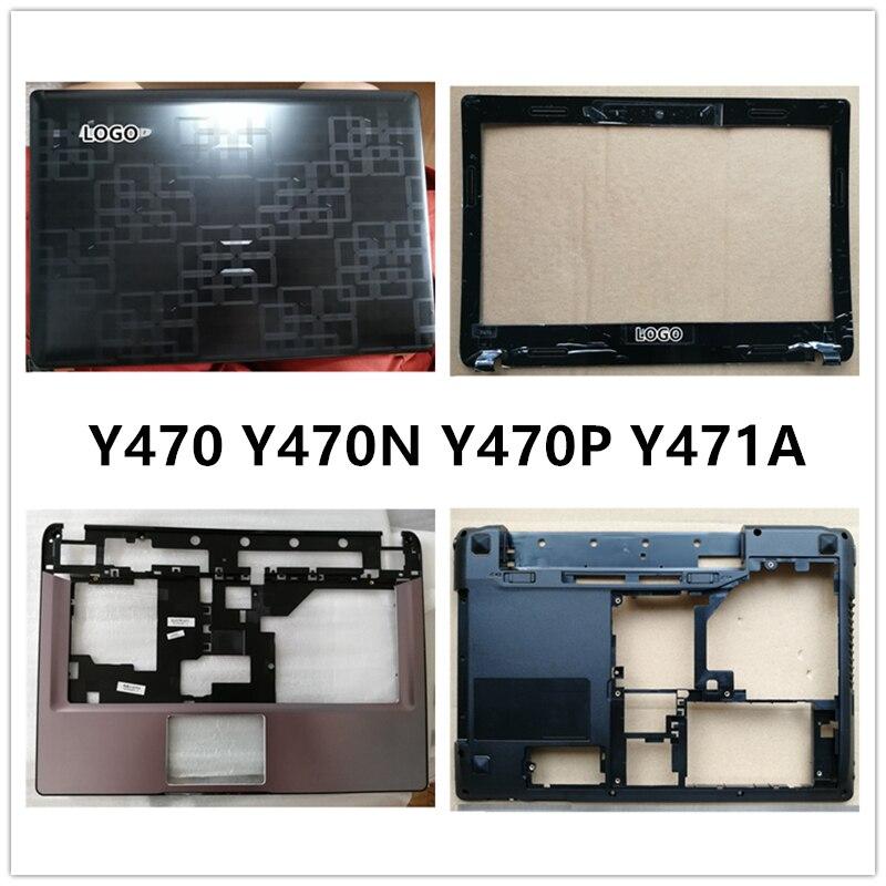 New Laptop For Lenovo IdeaPad Y470 Y470N Y470P Y471A LCD Back Cover Top Case/Front Bezel/Palmrest/Bottom Base Cover Case/hinge